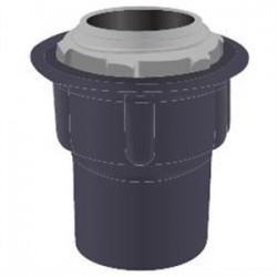 Calbond - PV0700STG2 - Calbond PV0700STG2 Conduit Hub, Type: Grounding, Size: 3/4, PVC Coated Steel