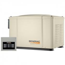 Generac - 6519 - Generac 6519 Generator, Standby, 7kW, 120/240VAC, Non-Prewired Switch, Pad Mount