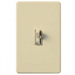 Lutron - AYFSQFHIV - Lutron Ariadni AYFSQ-F Dimmer/Switch Combo - Fan Control - Ivory