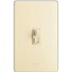 Lutron - AYFSQFIV - Lutron Ariadni AYFSQ-F Dimmer/Switch Combo - Fan Control - Ivory