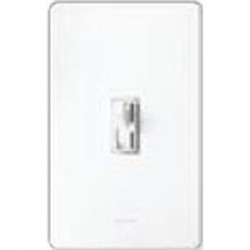 Lutron - AY-103P-WH - Lutron AY-103P-WH Toggle Dimmer, 1000W, 3-Way, Ariadni, White