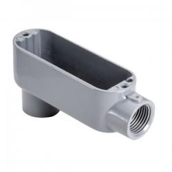 Topaz Lighting - LB5 - Topaz LB5 Conduit Body, Type: LB, Size: 1-1/2, Material: Aluminum