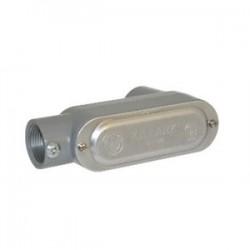 BizLine - BZLOLB3CG - Bizline BZLOLB3CG Conduit Body, Type: LB, Size: 1, Form 5, Cover/Gasket, Aluminum