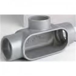 BizLine - BZLOT4CG - Bizline BZLOT4CG Conduit Body, Type T, 1-1/4, Aluminum, Form 5, Cover/Gasket Included
