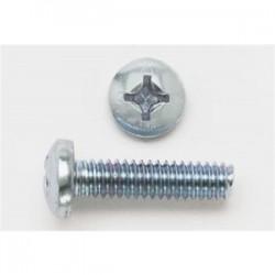 BizLine - 1032X12PHPMSZJ - Bizline 1032X12PHPMSZJ Machine Screw, Pan Head, Phillips, 10-32 x 1/2, Steel, Zinc Plated