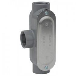 L.H. Dottie - T150CG - Dottie T150CG Conduit Body, Type T, 1-1/2, Cover/Gasket, Aluminum