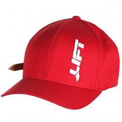 Lift Safety - AVT-6R - Lift Safety AVT-6R Cotton Flexfit Hat, Red