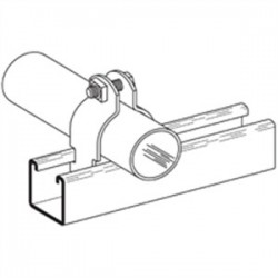 Eaton Electrical - B2014HDGW/SS6 - Cooper B-Line B2014HDGW/SS6 Conduit Clamp, Size: 2-1/2, Material: Hot Dipped Galvanized Steel