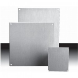 Adalet / Scott Fetzer - 12P12 - Adalet 12P12 Back Panel For Enclosure, Size: 12 x 12, Material: Steel
