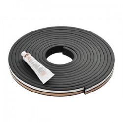 Pentair - GSKTKITS375 - Hoffman GSKTKITS375 Gasket Kit, Material: Silicone, Size: 0.375 x 1.00, Length: 20'