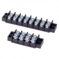 Cooper Bussmann - TB100-10 - Eaton/Bussmann Series TB100-10 Double Row Terminal Block, 10 Pole, 30A, 300V, 14 - 22 AWG