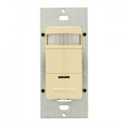 Leviton - ODS15-TDI - Leviton ODS15-TDI PIR Occupancy Sensor/Switch, Ivory