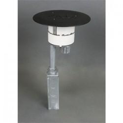 Wiremold / Legrand - 4FFATC15AL - Wiremold 4FFATC15AL 4-inch Furn Feed Poke-thru Assy Al