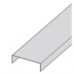 Eaton Electrical - 808P04144 - Cooper B-Line 808P04144 Cable Tray Cover, Flanged, 4 High, 12' Long, Pre-Galvanized