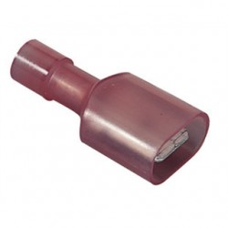 IDEAL Electrical / IDEAL Industries - 83-9911 - Ideal 83-9911 Male Disconnect, Nylon Fully-Insulated, 22 - 18 AWG, .25 x .032 Tab