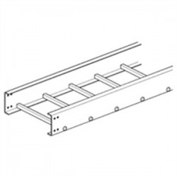 Eaton Electrical - 36F09-18-120 - Cooper B-Line 36F09-18-120 Ladder Cable Tray, 5 NEMA, 9 Spacing, 18 Wide, Polyester Resin