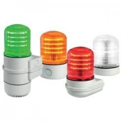 Federal Signal - SLM100G - Federal Signal SLM100G Beacon, Type: Multi-Function, LED, 12 - 24VAC/DC or 120 - 240VAC
