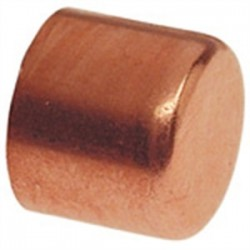 Elkhart Products - 10030636 - Elkhart Products 10030636 Tube Cap, Type: C - WROT, Size: 1-1/2, Copper