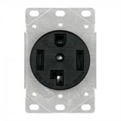 Cooper Wiring Devices - 1257-SP - Cooper Wiring Devices 1257-SP Receptacle, 30A, 125/250V, 3P4W, 14-30R, Black