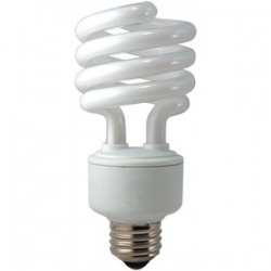 Eiko - SP23/50K - Eiko SP23/50K Compact Fluorescent Lamp, Twister, 23W, 5000K