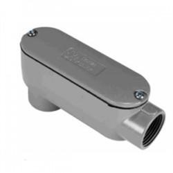 Orbit - LB-150A - Orbit Industries LB-150A Conduit Body With Cover/Gasket, Size: 1-1/2, Type: LB, Aluminum
