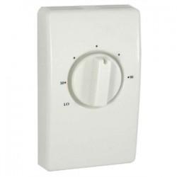 TPI - D2022H10BA - TPI D2022H10BA Bimetal Thermostat, Double Pole, 120-277V, White
