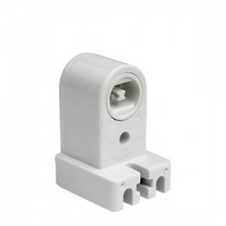 Pass & Seymour - 465 - Pass & Seymour 465 Fluorescent Lampholder, Pedestal, White