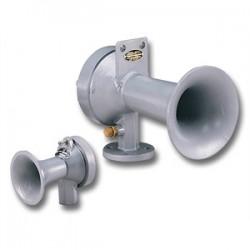 Federal Signal - 3H - Federal Signal 3H Air Horn, 120VAC, Diameter: 3, 122 dB @ 10 Feet, Cast Aluminum Alloy