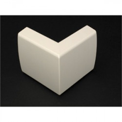 Wiremold / Legrand - 2318-WH - Wiremold 2318-WH 90 External Elbow / 2300 Series Raceway, PVC, White
