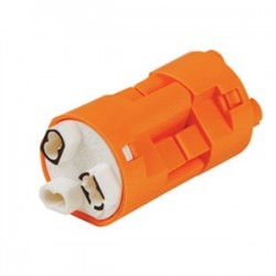 IDEAL Electrical / IDEAL Industries - 30-383XJ - Ideal 30-383XJ Luminaire Disconnect, 18 to 12 AWG, 3-Wire, 6 Amp/600V Max