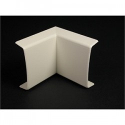 Wiremold / Legrand - 2317-WH - Wiremold 2317-WH Internal Elbow, 90, For 2300 Series Raceway, Non-Metallic, White