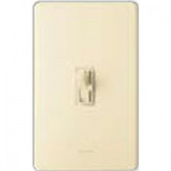 Lutron - AY-103P-IV - Lutron AY-103P-IV Toggle Dimmer, 1000W, 3-Way, Ariadni, Ivory