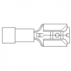 Moldex - 0190110038 - Molex Premise Networks 0190110038 Quick Disconnect, Type: Piggy-Back, PVC Insulated, 16 - 14 AWG
