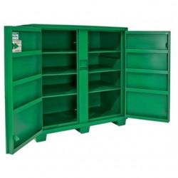 "Greenlee / Textron - 5760TD - Greenlee 5760TD 2 Door Utility Cabinet - HxWxD: 56"" x 60"" x 30"""