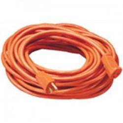 Coleman Cable - 0265 - Coleman Cable 0265 CLM 0265 16/3 8FT SJTW ORANGE EXT
