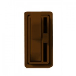 Lutron - AY-103PH-BR - Lutron AY-103PH-BR Toggle Dimmer, 1000W, 3-Way, Ariadni, Brown