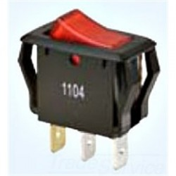IDEAL Electrical / IDEAL Industries - 774039 - Ideal 774039 Appliance Rocker Switch, Red Lighted, SPST, On-Off