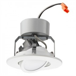 Acuity Brands Lighting - 4g1mbledm6 - Lithonia Lighting 4g1mbledm6 Lit 4g1mbledm6 4'' Matte Black Led
