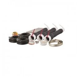 3M - 7685-S-8-3-RJS - 3M 7685-S-8-3-RJS Cold Shrink Termination Kit, 3/0 AWG to 1500 MCM, Black, Cabinet Mount