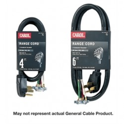 General Cable - 01004.63.01 - General Cable 01004.63.01 4' 4/10 SRDT BLACK