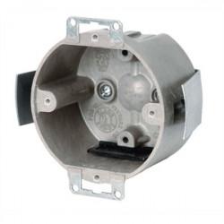 Allied Moulded - 9338-ESKT - Allied Moulded 9338-ESKT 3-1/2 Round Ceiling/Fixture Box, Depth: 2, Old Work, Non-Metallic