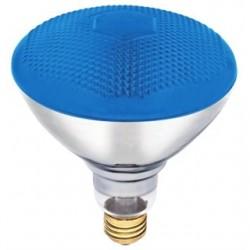 Candela - ABCO-04414 - Candela ABCO-04414 Incandescent Reflector Lamp, BR38, 100W, 120V, Blue