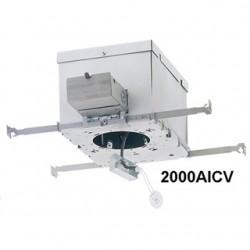 Philips - 2000AICV - Lightolier 2000AICV IC Housing, Frame-In Kit, 3 3/4 in