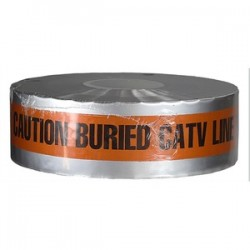 L.H. Dottie - DU08 - Dottie DU08 Detectable Tape, Caution Buried CATV Line Below, 3 X 1000' - Orange