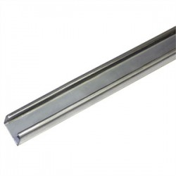 Atkore - P1000 10PG - Unistrut P1000 10PG Channel - No Holes, Steel, Pre-Galvanized, 1-5/8 x 1-5/8 x 10'