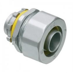Arlington Industries - LT50 - Arlington LT50 Liquidtight Connector, Straight, 1/2, Die Cast Zinc