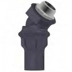 Calbond - PV0500LT5045 - Calbond PV0500LT5045 1/2 45 Degree Liquid Tight Connector