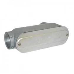 BizLine - BZLCOLB6CG - Bizline BZLCOLB6CG Type LB Conduit Body, Rigid/EMT, Aluminum, 2, Cover & Gasket