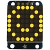 Adafruit - 871 - LED Dot Matrix Display, Yellow, 8 x 8
