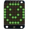 Adafruit - 872 - LED Dot Matrix Display, Green, 8 x 8